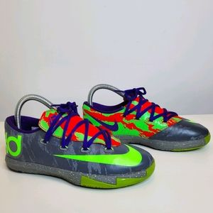 Nike KD 6 VII energy Kevin Durant Size 3 Youth